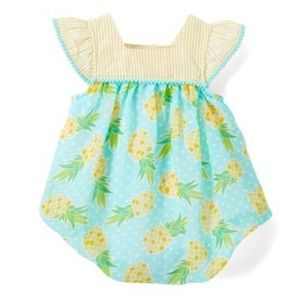 Baby Essentials Pineapple Romper